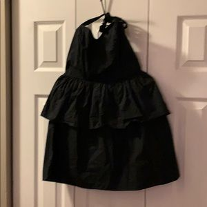 Cute halter peplum mini dress